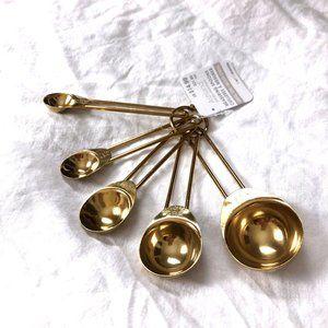 Ashland Gold Measuring Spoons